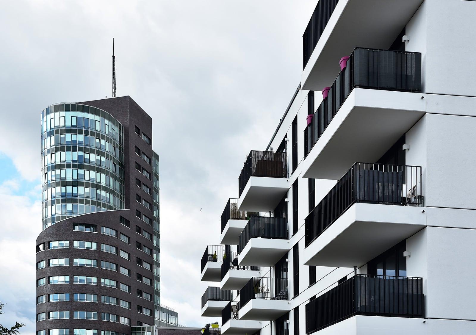 Baugenehmigungen Hamburg: Hh Wohnen Harburger Bruecken, Foto: Feldhaus