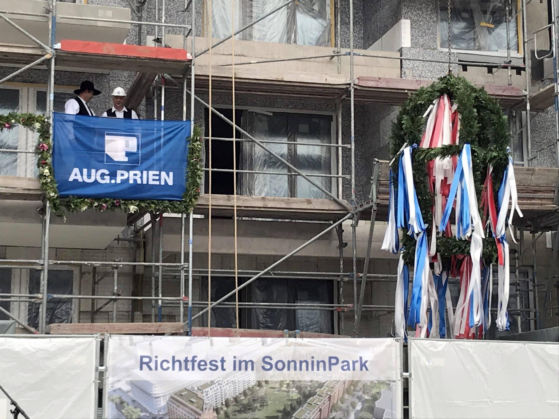 Richtfest im SonninPark