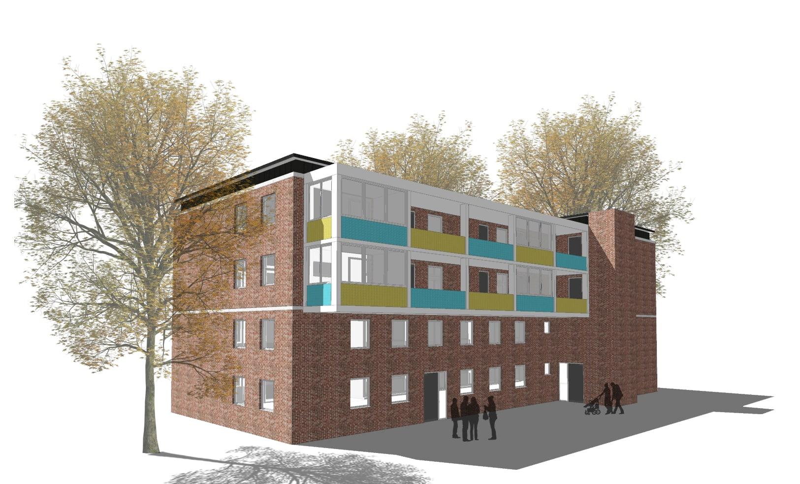 Stephanstrasse48 - ein Wentzel Dr. Neubauprojekt