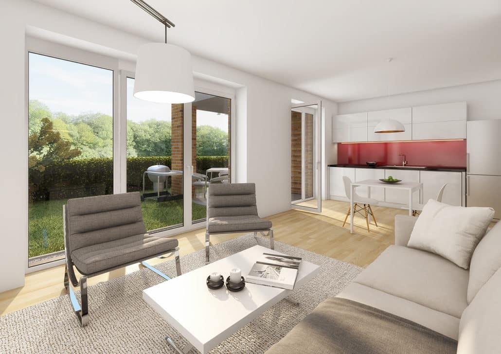 lohbr gger g rten neubau eigentumswohnungen. Black Bedroom Furniture Sets. Home Design Ideas