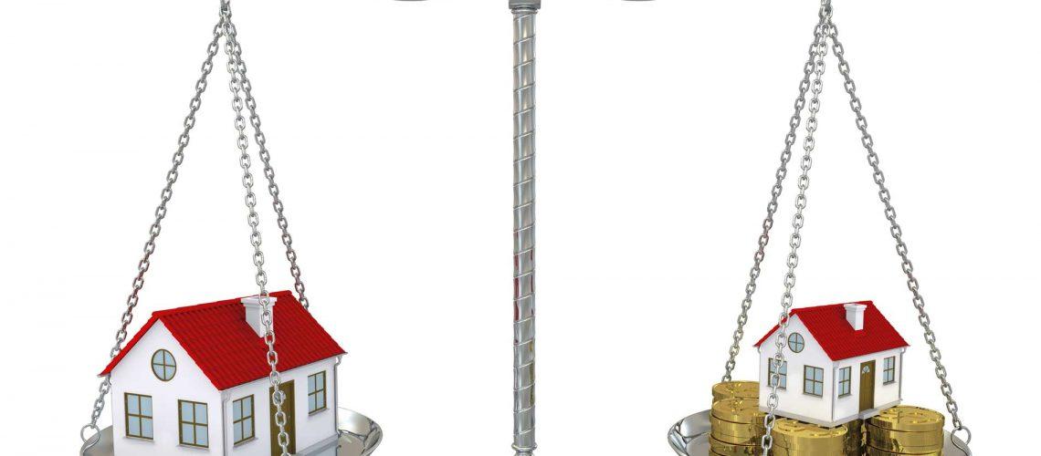 Preissteigerung von Wohnimmobilien auf Rekordhoch