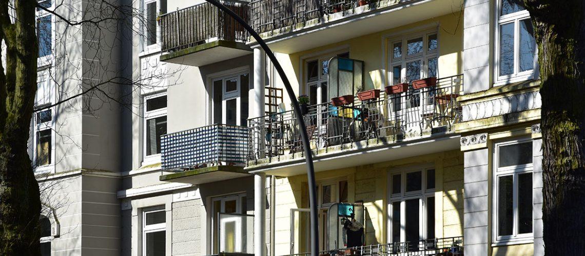 Auch die Gründerzeitbauten in Eimsbüttel können nicht mehr aufgeteilt oder hochwertig modernisiert werden.
