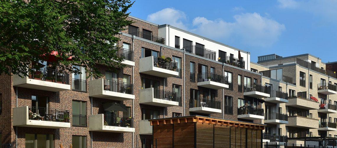 Uhlenhorst gehört zu den begehrten Stadtteilen für Eigentumswohnungen. 122 wurden 2016 verkauft – u.a. im Neubaugebiet Finkenau.