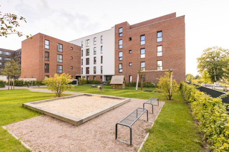 Schöne, lichtdurchflutete Wohnung im HanseViertel - Außenansicht