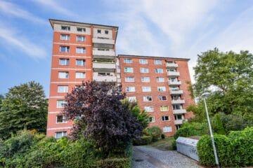 2-Zimmer-Wohnung mit tollem Ausblick in Wedel, Boockholtzstraße 5<br>22880 Wedel<br>Etagenwohnung