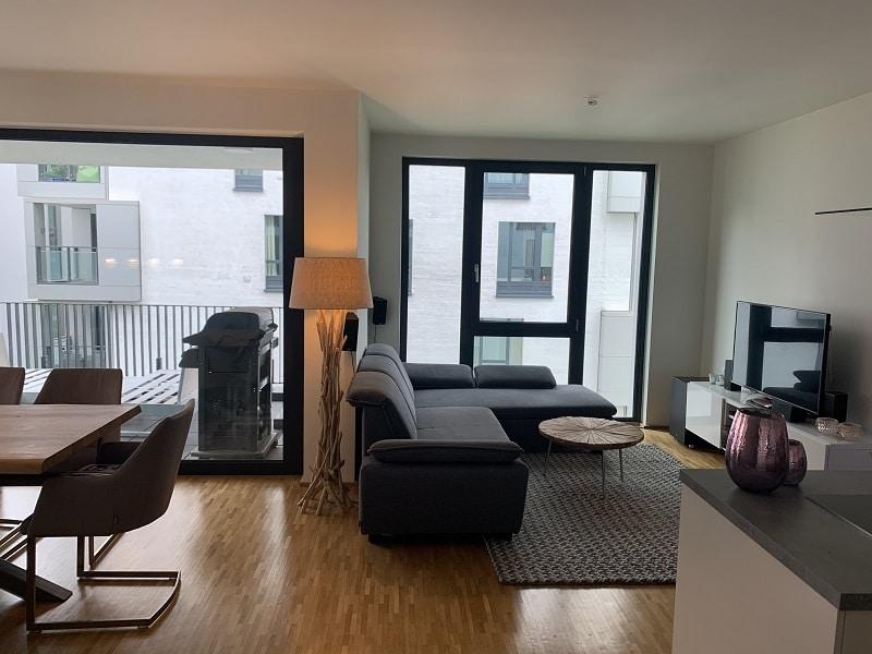 3 Zimmer Wohnung in Pempelfort - Offenes Wohnzimmer