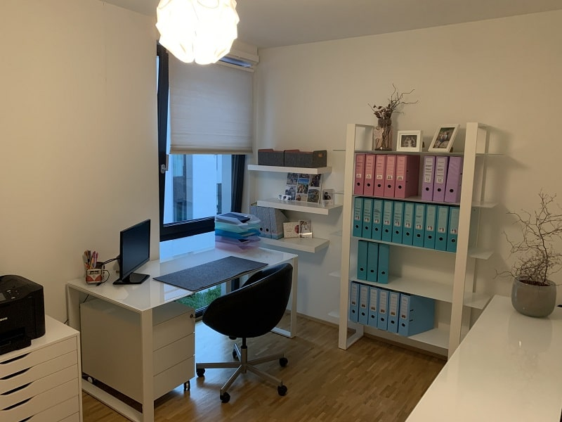 3 Zimmer Wohnung in Pempelfort - Arbeitszimmer