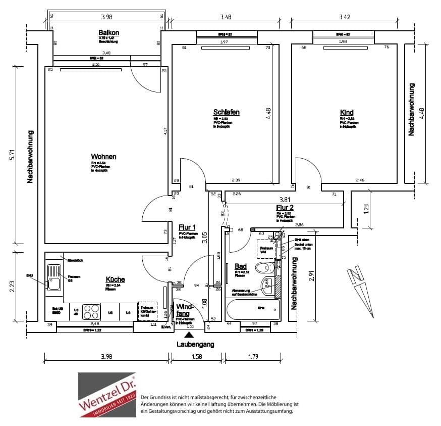 Erstbezug nach Modernisierung - Willkommen Daheim - Grundriss