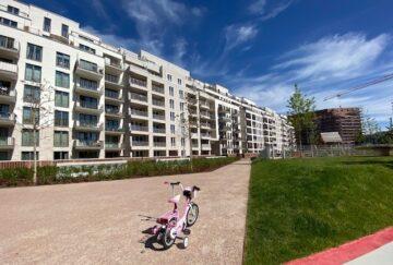 Ideale Neubauwohnung für eine Familie mit Balkon, 20097 Hamburg, Etagenwohnung