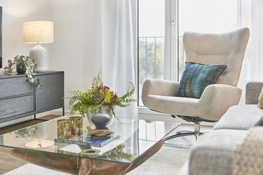 LIDO - Ihr neues Zuhause! www.lido-leipzig.de - Musterbild Wohnzimmer