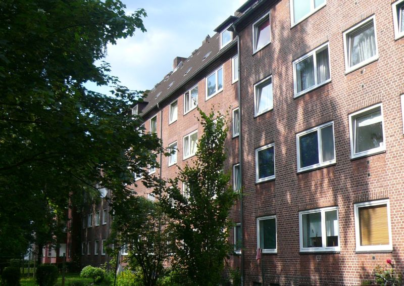 Gemütliche 2 Zimmer Wohnung in zentraler aber ruhiger Lage in Horn - Außenansicht