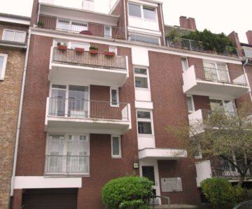 Singlewohnung im Erdgeschoss mit Balkon in toller Lage, Heider Str. 27<br>20251 Hamburg<br>Erdgeschosswohnung