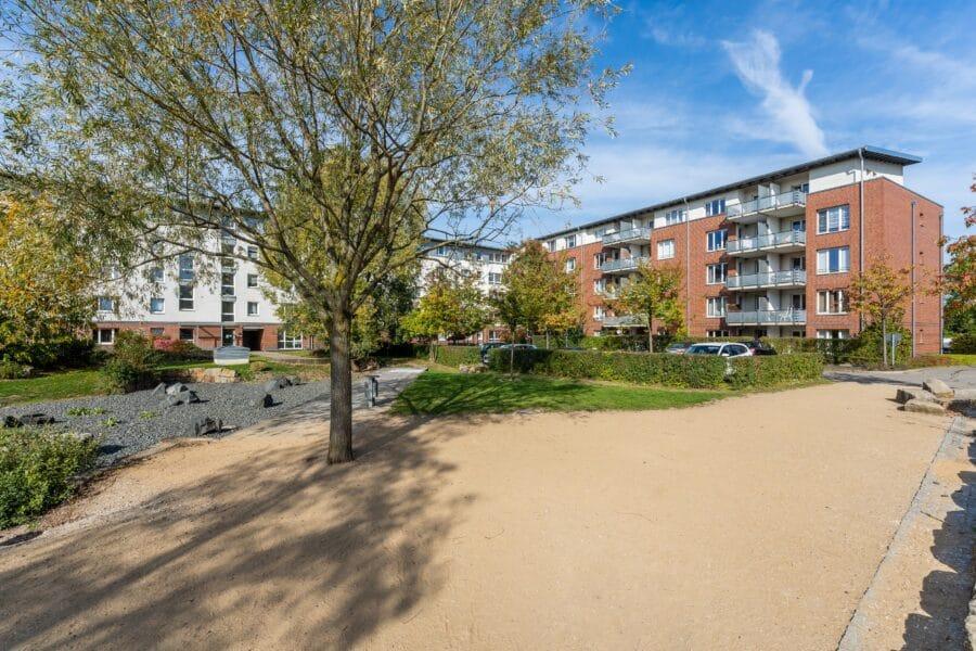 Gemütliche 3-Zimmer-Wohnung in Hannover - Außenansicht