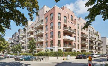 Stilvolle Neubauwohnung mit Balkon, Dorothea-Bernstein-Weg 1<br>22081 Hamburg<br>Etagenwohnung