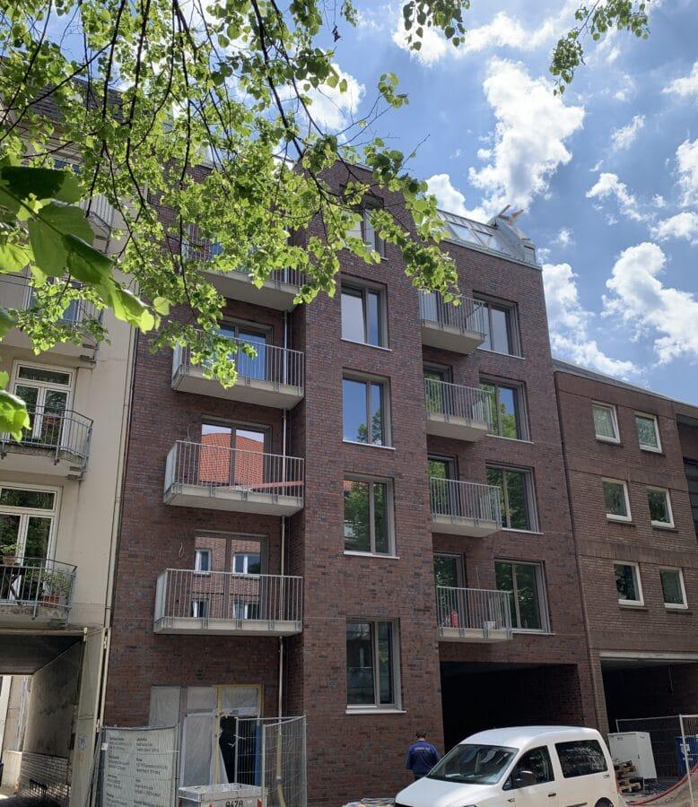 Kompakte Neubauwohnung die überzeugt! ERSTBEZUG - Titelbild