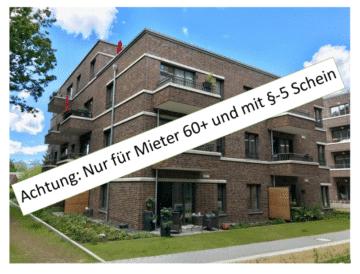 SENIORENWOHNUNG für Mieter 60+ mit §5-Schein, Jütländer Allee 40<br>22527 Hamburg<br>Erdgeschosswohnung
