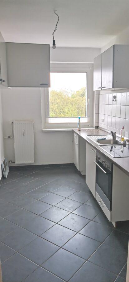 3-Zimmerwohnung mit Balkon und tollem Ausblick über Wedel - Küche