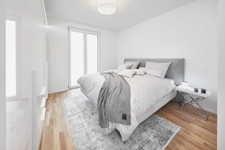 Terrassen-Maisonette am Alsterpark - Erstbezg mit Bad en Suite und großer Ankleide! - Bsp. Schlafzimmer