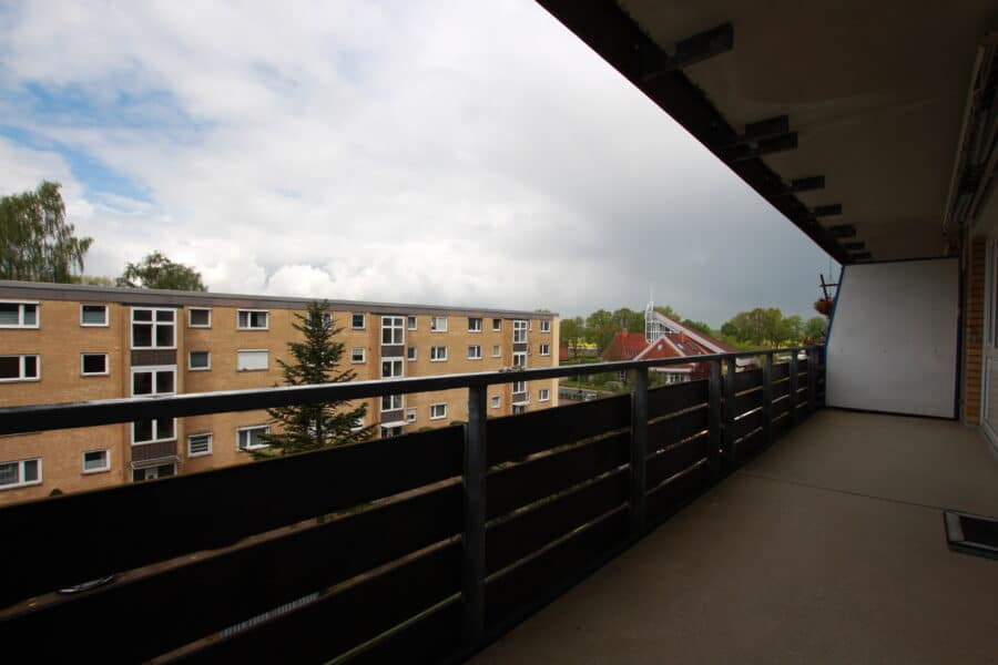 Ihr neues Zuhause in Tostedt! - Balkon