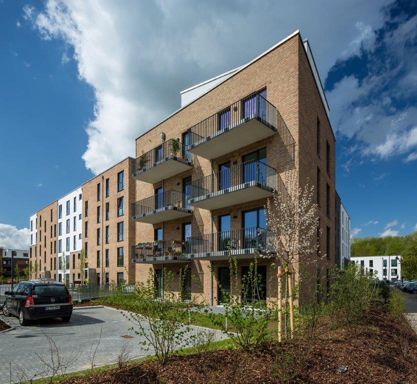 Im Herzen von Ahrensburg! Schicke Neubauwohnung mit Balkon! - Bild