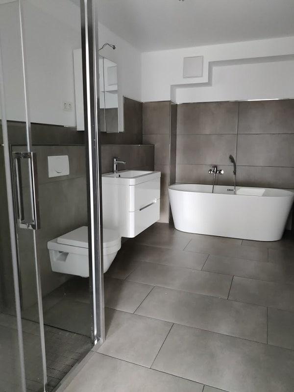 Gemütliche 3 Zimmerwohnung mit Balkon - Badezimmer