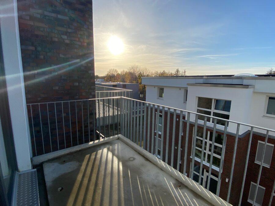 Moderne Wohnung mit offener Wohnküche und idealem Schnitt - Balkon