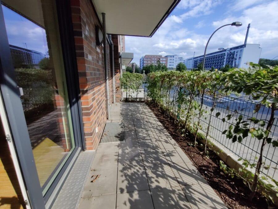 Wohnung mit Süd Terrasse und offener Wohnküche! - Süd-West Terrasse