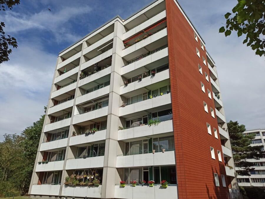 Moderne 2,5 Zimmerwohnung in zentraler Lage! - Aussenansicht