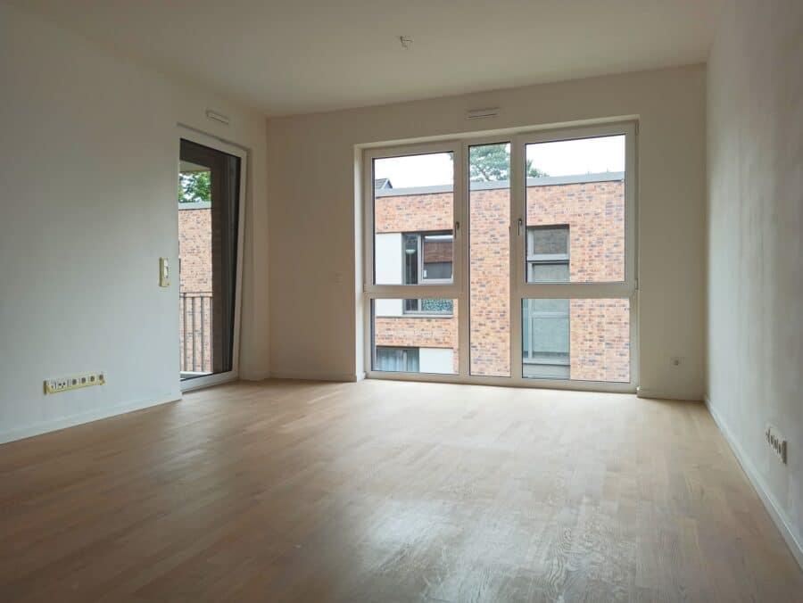 Schöne Neubauwohnung mit allem Komfort - Wohnzimmer
