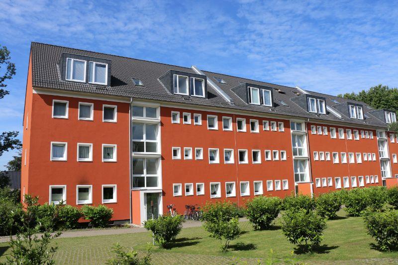 Singles hergeschaut! 1 Zimmer Wohnung mit Balkon - Außenansicht