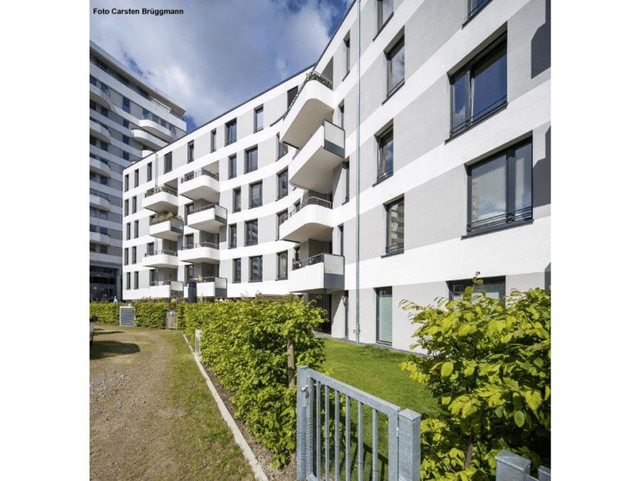 Großzügige und helle 4 Zimmer Wohnung mit Süd-Balkon - Aussenansicht