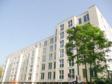 Schöne, helle 3-Zi.-Whg. im 1. OG. mit Balkon in moderner Wohnanlage, 40237 Düsseldorf, Etagenwohnung