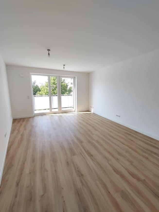 Lichtdurchflutete 1 Zimmerwohnung in Hamburg-Jenfeld - Musterbild Wohnraum