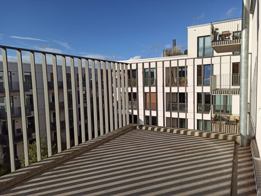 gemütliche Singel- oder Pärchenwohnung am Stadtpark!! - Beispiel Balkon