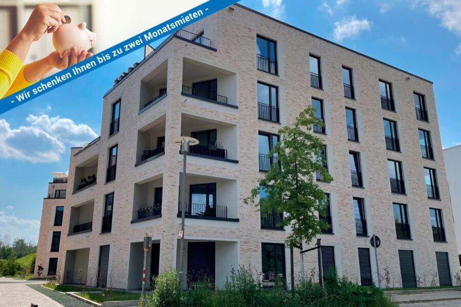 Neubau-Erstbezug! Modern, hochwertig, individuell www.lido-leipzig.de - Außenansicht