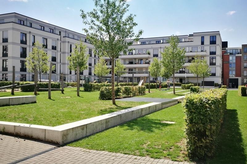 Gartenwohnung in Bilk - Bilker Höfe
