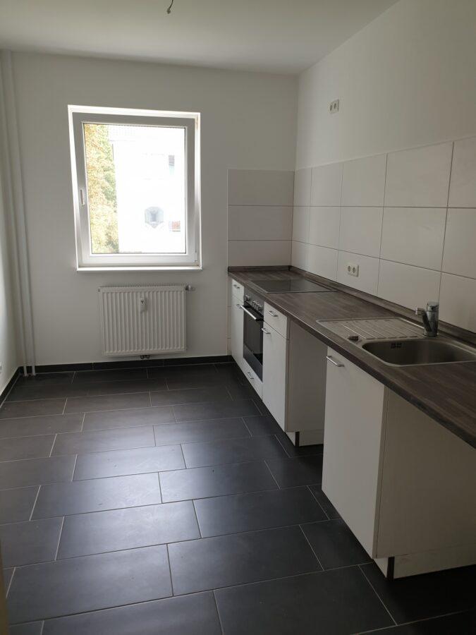 Ruhig und grün gelegen in familienfreundlicher Wohnanlage! - Küche mit Küchenzeile
