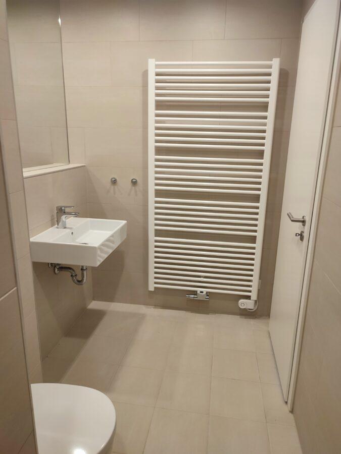 Aufgepasst: Neubauwohnung mit 2 Balkone - Beispiel Badezimmer
