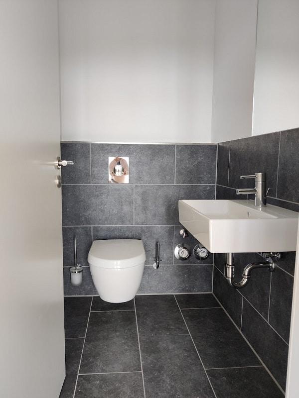 4 Zimmerwohnung mit Dachterrasse - Gäste-WC