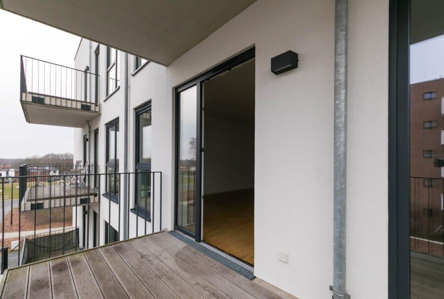 Schicke 2 Zimmer Wohnung im Hanseviertel - Balkon