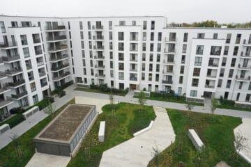 Wohnen mit Blick im Charlie-Mills-Quartier!, Charlie-Mills-Straße 3<br>22159 Hamburg (Wandsbek)<br>Dachgeschosswohnung