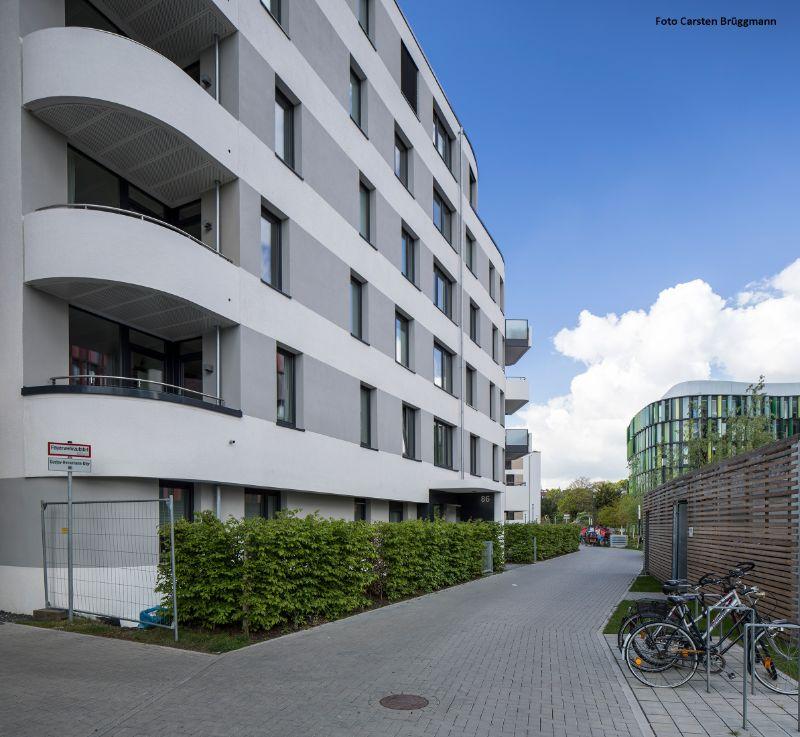 Großzügige und helle 4 Zimmer Wohnung mit Süd-Balkon - Außenansicht