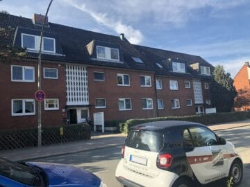 reserviert: Klein aber fein: 1,5 Zimmerwohnung mit Balkon, 21035 Hamburg, Etagenwohnung