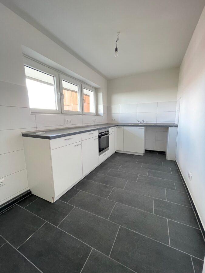Frisch modernisierte 3 Zimmer Wohnung mit tollem Ausblick - Küche