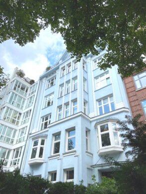 Attraktive Altbauwohnung in bester Lage, 20148 Hamburg, Etagenwohnung