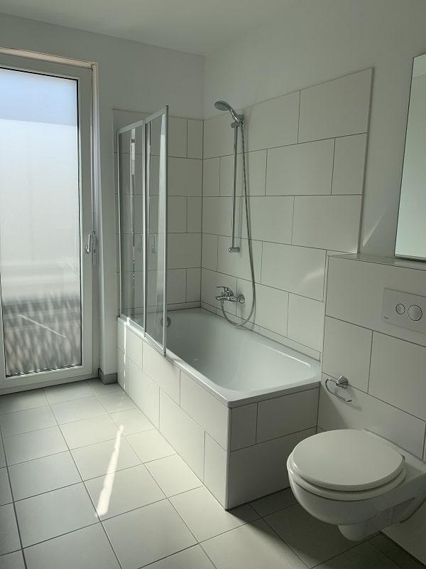 Gartenwohnung in Bilk - Bsp. Badezimmer