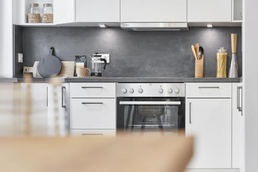 Vertriebsstart STRIETZ - Moderne 3-Zimmer-Wohnung in Stötteritz! - Einbauküche