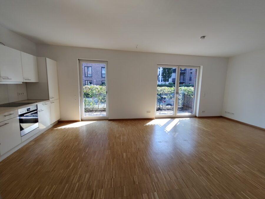 Wohnung mit Süd Terrasse und offener Wohnküche! - Wohnbereich