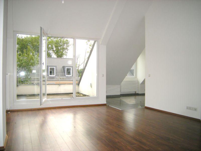 Singles hergeschaut! 1 Zimmer Wohnung mit Balkon - Beispiel Wohnzimmer