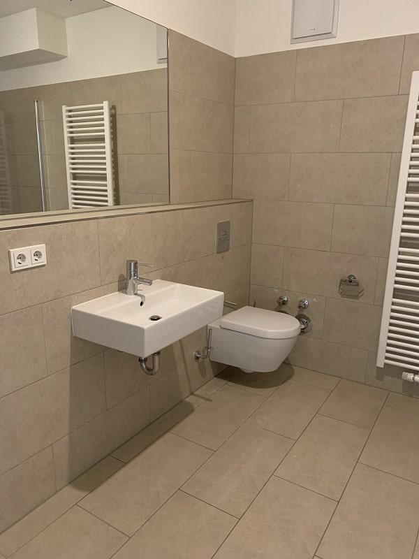 Gemütliche 2 Zimmerwohnung am Zoopark - Bsp. Bad